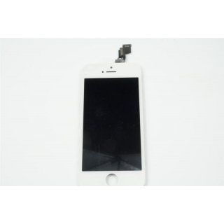 Iphone 5C LCD A++ Display weiss Touchscreen Glas Retina Digitizer Komplett set