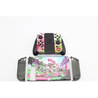 Cartoon Case Modding Für Nintendo Switch Splatoon 2 A009 Gehäuse