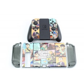 Cartoon Case Modding Für Nintendo Switch Grand Theft Dora Zero A029 Gehäuse