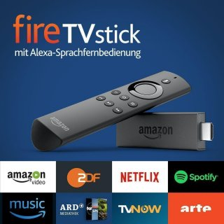 Amazon Fire TV Stick V2 KODi 18.6 + Vavoo + Pulse Mega Paket Bundesliga SkyGo Auto Update