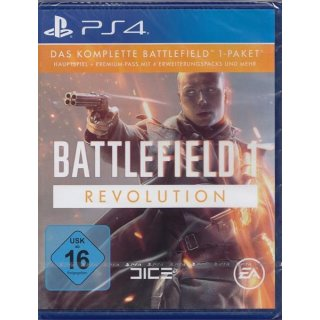 Battlefield 1 Revolution Edition- PlayStation 4 PS4 - gebraucht