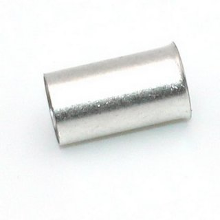 WAGO 216-110 Aderendhülse 1 x 16 mm² x 12 mm Unisoliert Metall 250 St.