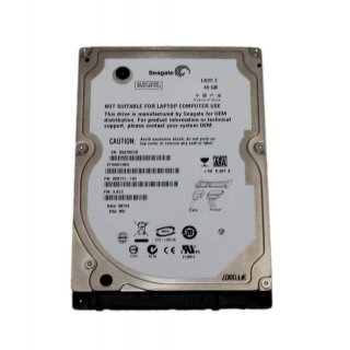 40 gb Seagate SATA *2.5 zoll* HDD (ST940210AS) Festplatte Ld25.2 *Notebook pc