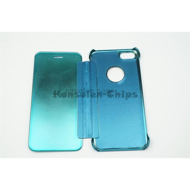 iphone 7 4 7 led view flip case tasche blau cover. Black Bedroom Furniture Sets. Home Design Ideas