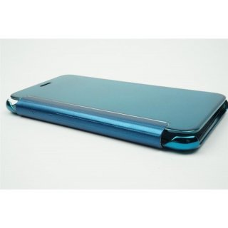 Iphone 7 / 4,7 LED View Flip Case Tasche Blau Cover Schutzhülle
