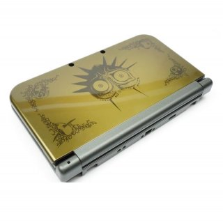 Nintendo New 3DS XL Gehäuse Gold Zelda Shell Housing Ersatzgehäuse New Gold Legend of Zelda Majoras Mask