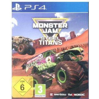Monster Jam Steel Titans PlayStation4 | PS4 | gebraucht in OVP