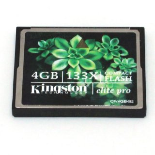Kingston Elite Pro CF/4GB-S2 - Flash-Speicherkarte - 4 GB - gebraucht